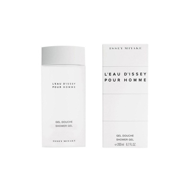 Issey Miyake 200 Ml Increíble issey Miyake L´eau D´issey Pour Homme Shower Gel 200 Ml Of 42  Único issey Miyake 200 Ml