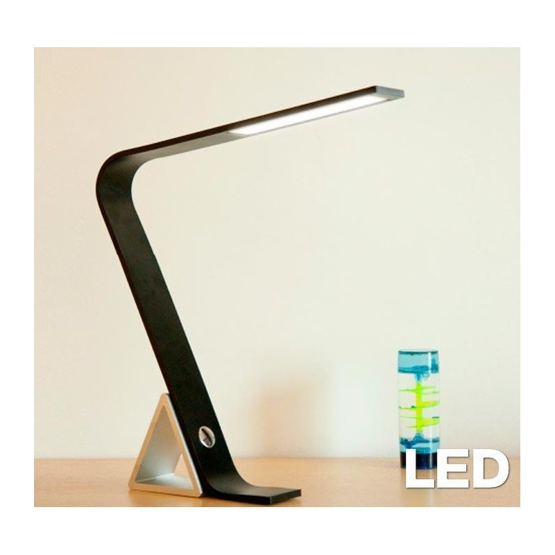 Lampara De Escritorio Led Contemporáneo Lámpara Escritorio Led 8w Lm 007 Aluminio Negro Of Lampara De Escritorio Led Brillante D Daylight Lámpara De Escritorio De Led Foldi