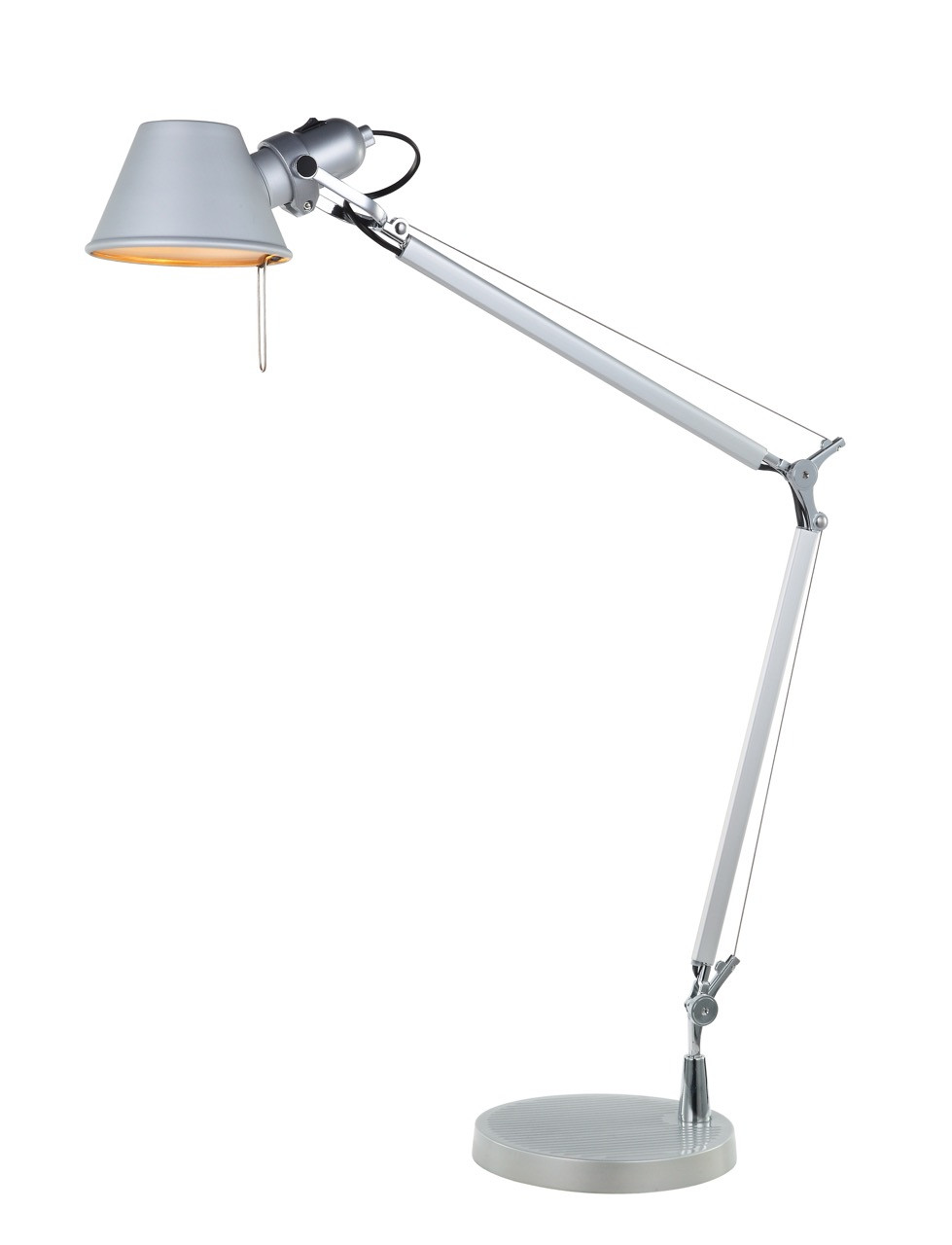 Lampara De Escritorio Led Contemporáneo Prar Lámpara De Mesa Tipo Metalarte Con Articulaciones Of Lampara De Escritorio Led Brillante D Daylight Lámpara De Escritorio De Led Foldi