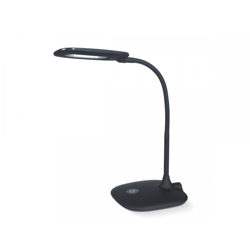 Lampara De Escritorio Led Increíble Lámpara Escritorio Led Nerón 4w Flexible Con Regulador Of Lampara De Escritorio Led Nuevo Anouk Led Lámpara sobremesa Negra – Faro