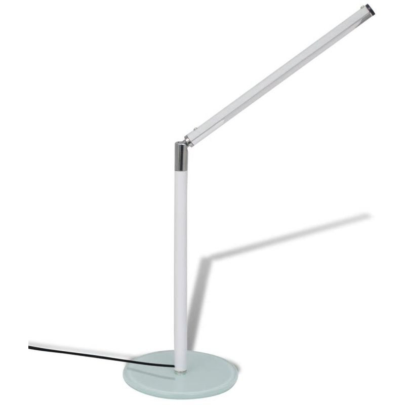 Lampara De Escritorio Led Lujo Lámpara De Escritorio De Color Blanca Con Luz Fra Led Of Lampara De Escritorio Led Maravilloso Lámpara Portatil Plegable De Escritorio Recargable 22 Led