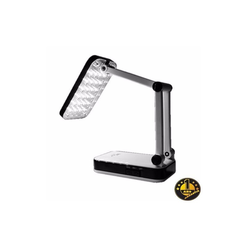 Lampara De Escritorio Led Magnífica Lampara Luz Escritorio Velador Led Plegable Dp 24 Leds Local Of Lampara De Escritorio Led atractivo Lámpara Escritorio Plateada Tiendas Mgi
