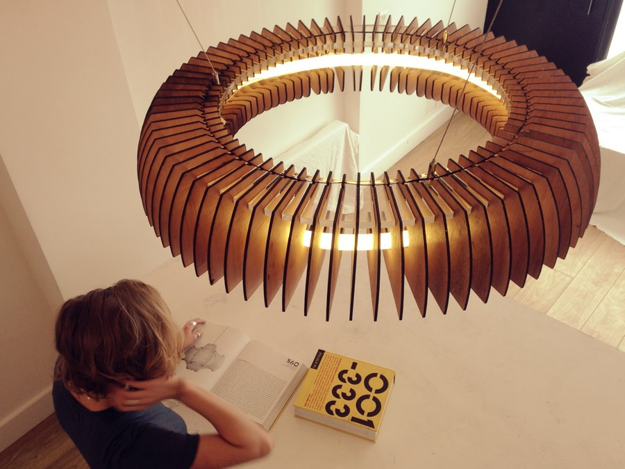 Lamparas Colgantes De Madera Encantador Sculptural Lighting with Dazzling Visual Effects by Of 37  Único Lamparas Colgantes De Madera