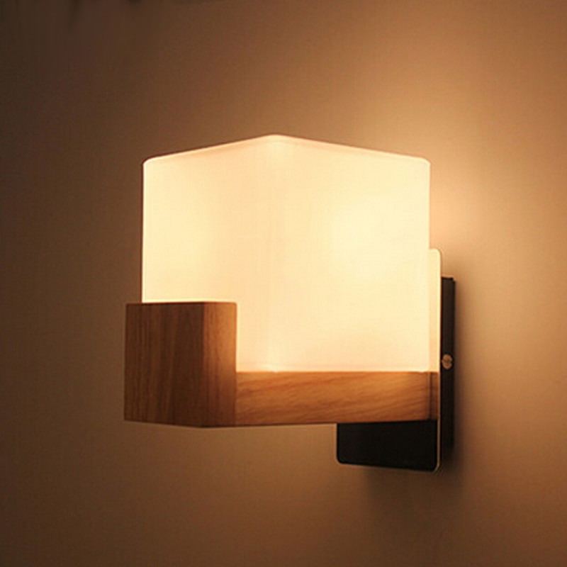 Lamparas De Pared Led Gran Aliexpress Buy northern Europe Style Wood Led Wall Of 46  Nuevo Lamparas De Pared Led