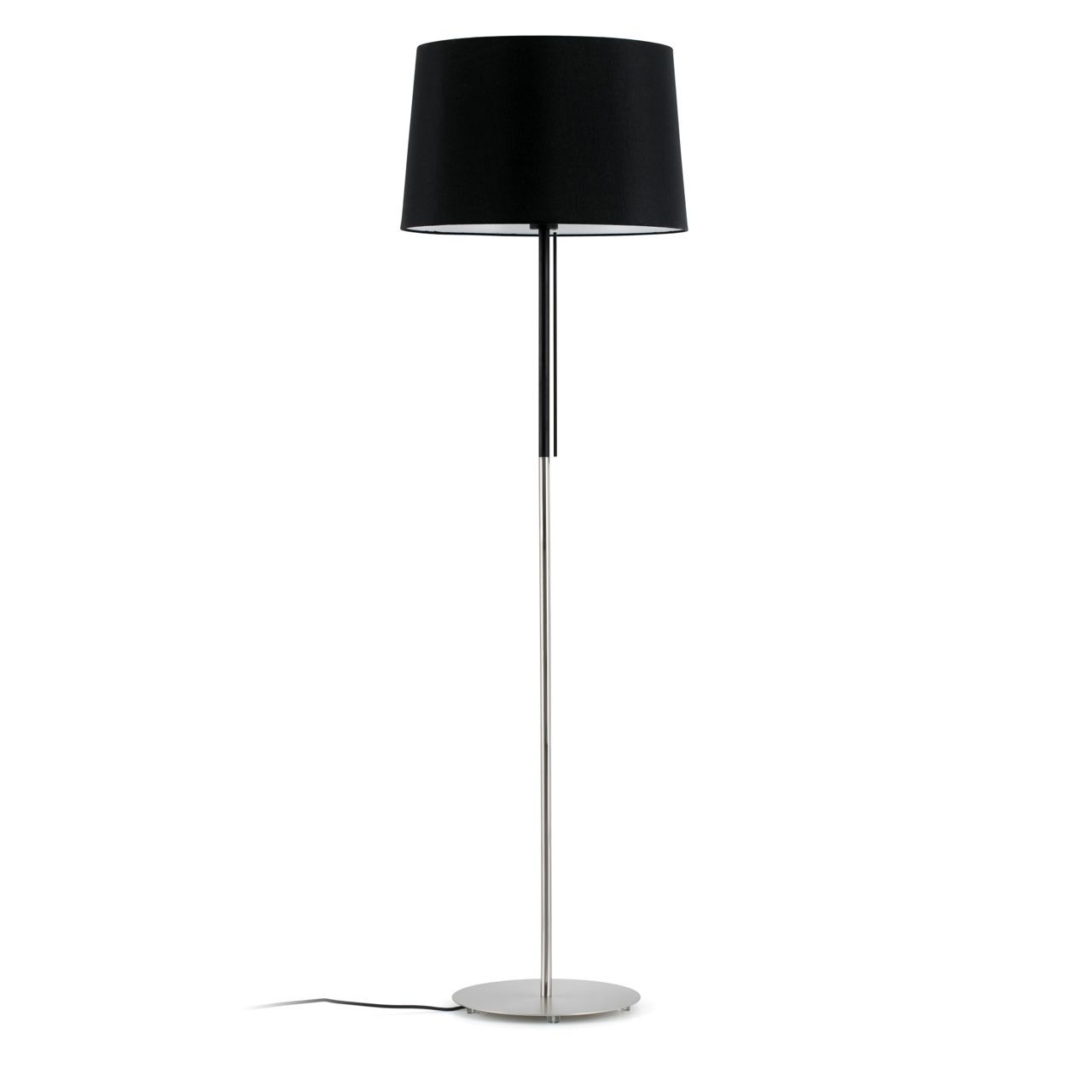 lampara diseno sobrio color negro p 1966