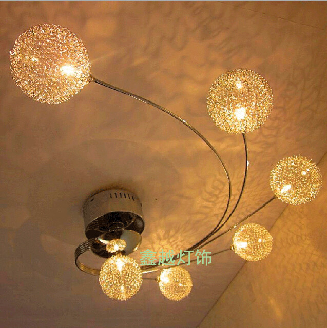 Lamparas De Techo Grandes Perfecto Aliexpress Buy Modern Led Glass Ceiling Light Of 46  Mejor Lamparas De Techo Grandes