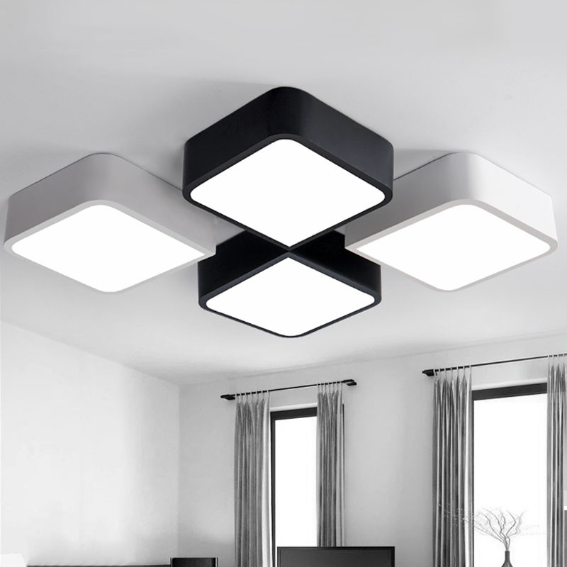 Lamparas Led De Techo Magnífica Aliexpress Buy Creative Ceiling Light Lamparas De Of 44  Encantador Lamparas Led De Techo