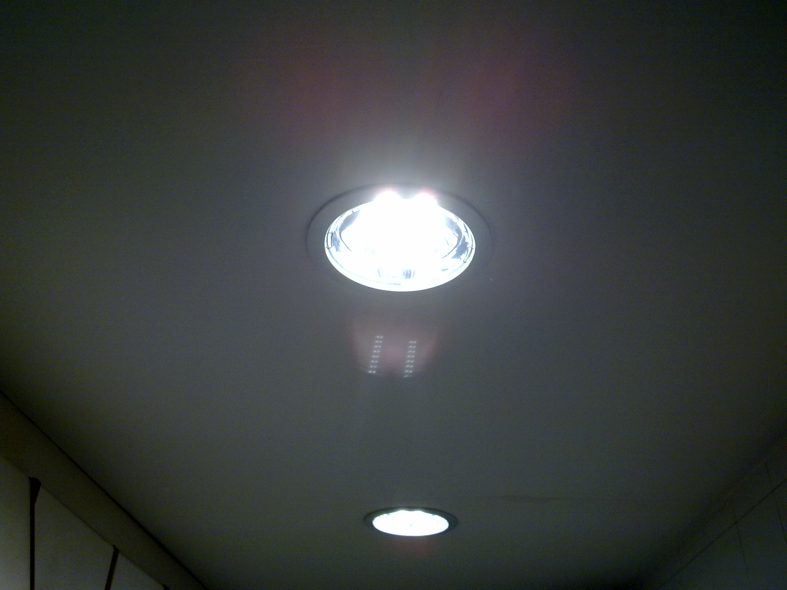 ideas de bricolajembiar las lamparas de un downlight a