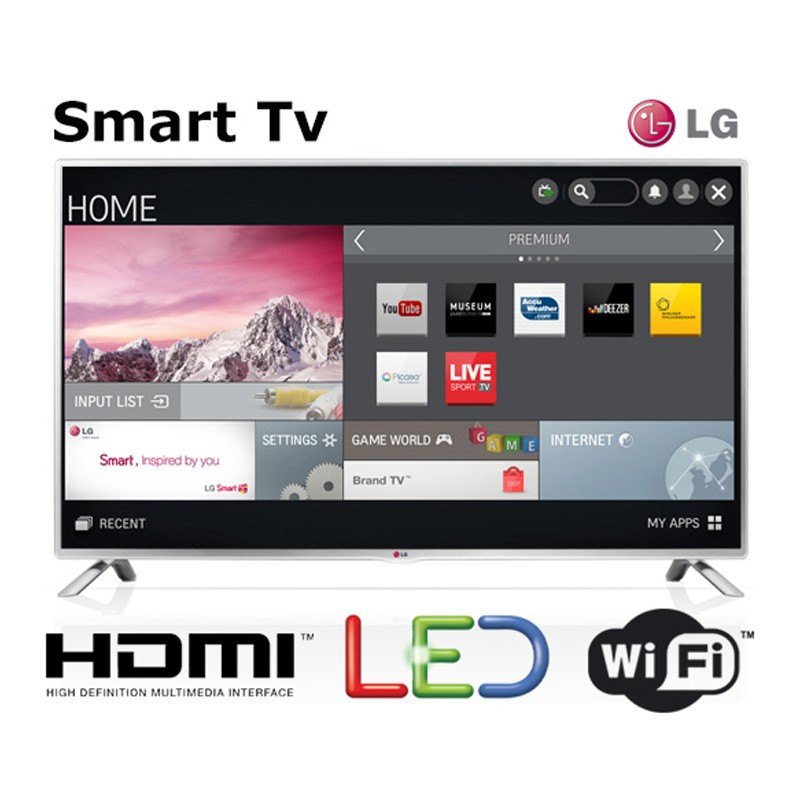 "Lg 32 Smart Tv atractivo Lg Smart Tv 32"" Fhd 32lb580b Grupo Rhinn Of 48  Arriba Lg 32 Smart Tv"
