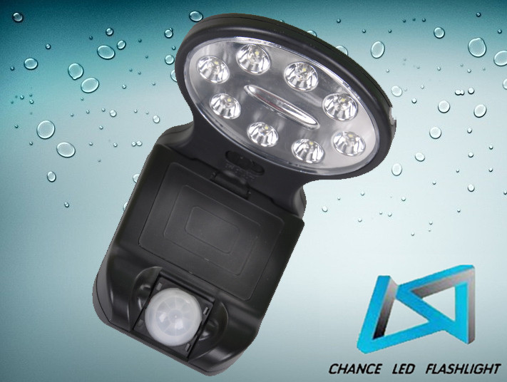 product 8 LED Motion Sensor Light eusgioiyg
