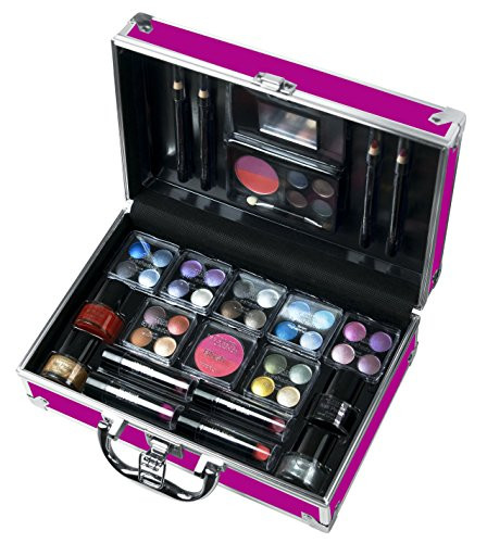 Maletin De Maquillaje Profesional Gran Markwins Maletn De Maquillaje Color Fucsia Of 40  Adorable Maletin De Maquillaje Profesional