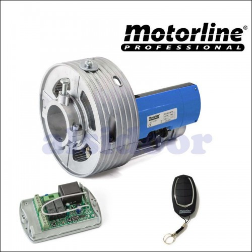 584 kit motorline rolling 160nm sp enrollable con mando a distancia