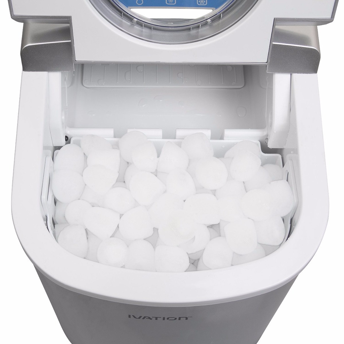 Maquina Para Hacer Hielo Mejor Maquina De Hielo Ivation Iva Icem15sil Portable Ice Maker Of 32  Innovador Maquina Para Hacer Hielo