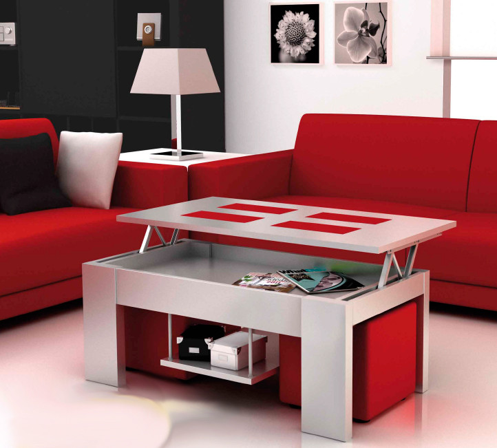 Mesa De Salon Elevable Nuevo Moderna Mesa De Salon Con Tablero Elevable Of 45  Encantador Mesa De Salon Elevable