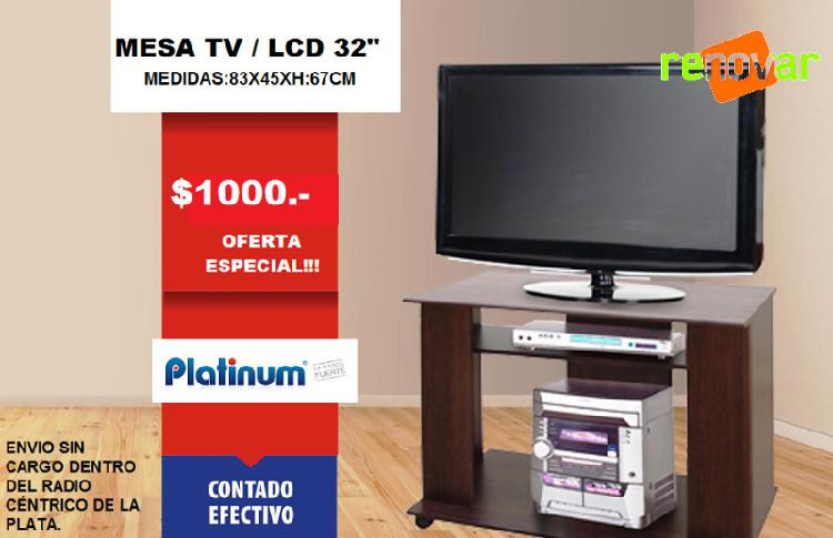mesa tv platinum