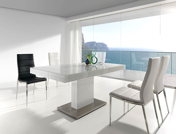 Mesas De Comedor Blancas Extensibles Perfecto Mesa De Edor Extensible Mery White No Disponible En Of Mesas De Comedor Blancas Extensibles Brillante Mesa Edor Rectangular Con Base Central En Blanco Y Tapa