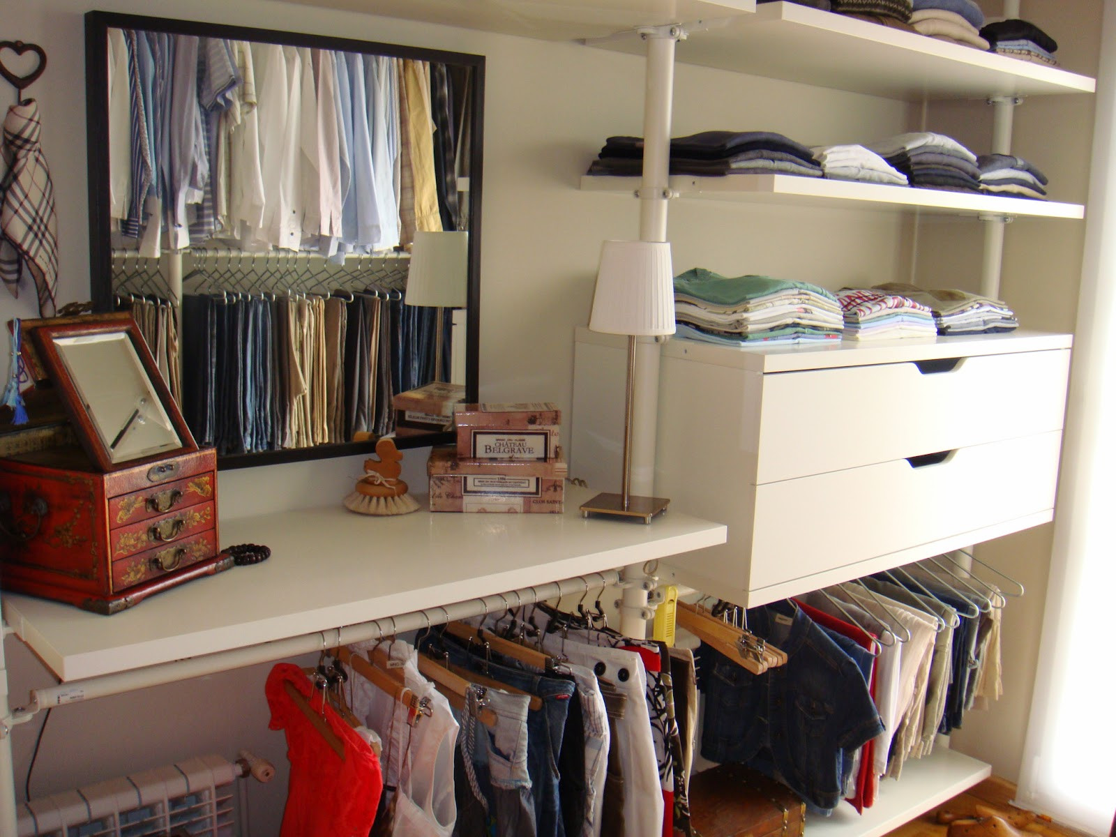 ideas vestidor ikea