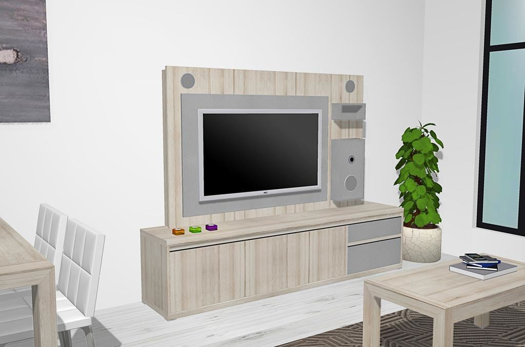 Mueble Tv Estilo nordico Fresco Salón Edor Estilo Nórdico Con Panel Tv Con Audio Of 32  Encantador Mueble Tv Estilo nordico