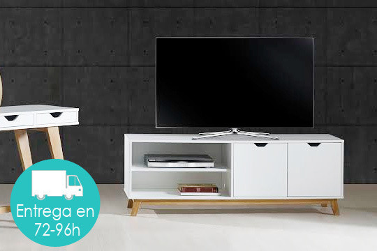 Mueble Tv Estilo nordico Maravilloso Muebles Colectivia Mueble De Tv Estilo Nórdico ¡en Color Of Mueble Tv Estilo nordico Adorable Mueble Tv Estilo Nórdico En Nogal Americano