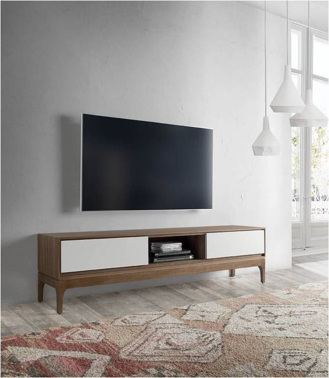 Mueble Tv Estilo nordico Mejor Mueble De Televisión Nórdico Bellini Nogal 180 Of Mueble Tv Estilo nordico Adorable Mueble Tv Estilo Nórdico En Nogal Americano