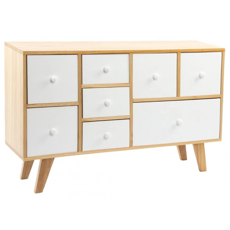 Mueble Tv Madera Natural Arriba Mueble Tv 8 Cajones Madera Natural Blanco Embla Of 46  Impresionante Mueble Tv Madera Natural