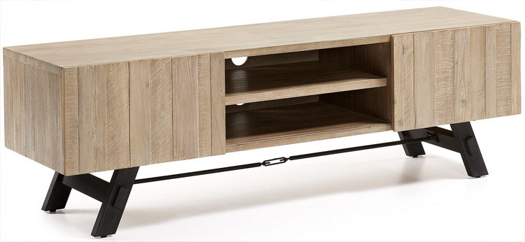Mueble Tv Madera Natural Arriba Mueble Tv Madera Acacia Natural Of 46  Impresionante Mueble Tv Madera Natural