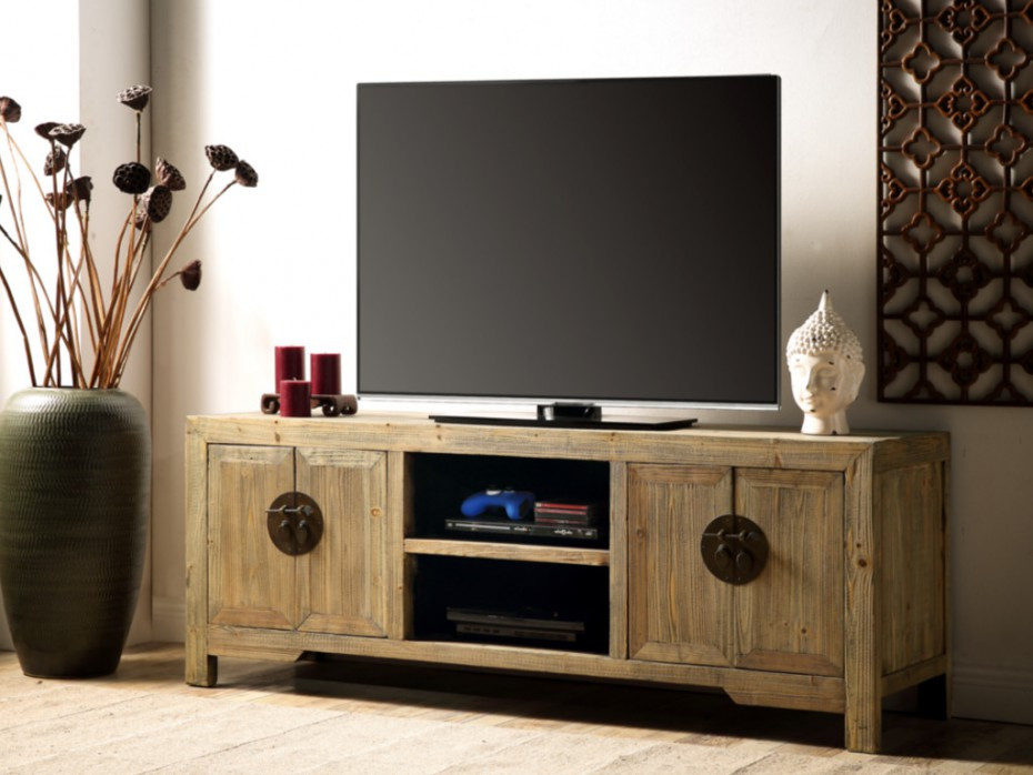 Mueble Tv Madera Natural Fresco Mueble De Tv Madera De Olmo Lacado Color Natural Trapano Of 46  Impresionante Mueble Tv Madera Natural
