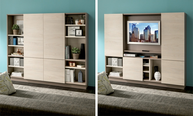 Muebles Para Tv Modernos Contemporáneo Muebles Tv Integrados Con Biblioteca 75 Ideas Modernas Of Muebles Para Tv Modernos Perfecto Mueble Esquinero Para La Tv – Cddigi