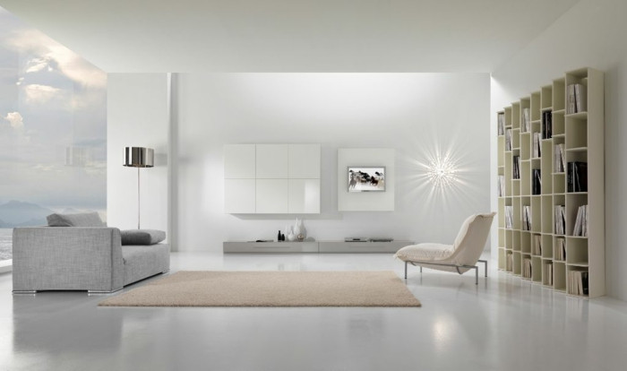 muebles salon estilo nordico