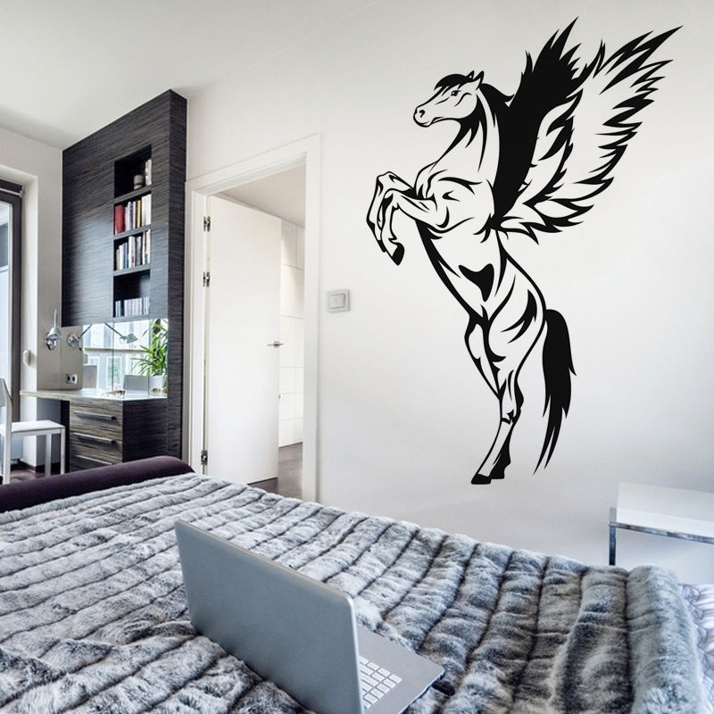 Murales De Pared Ikea Gran Pegasus Removable Wall Sticker Vinyl Bedroom Home Decor Of Murales De Pared Ikea Nuevo Vinilo Decorativo Arból Con Marcos De Fotos En Vinilosfo