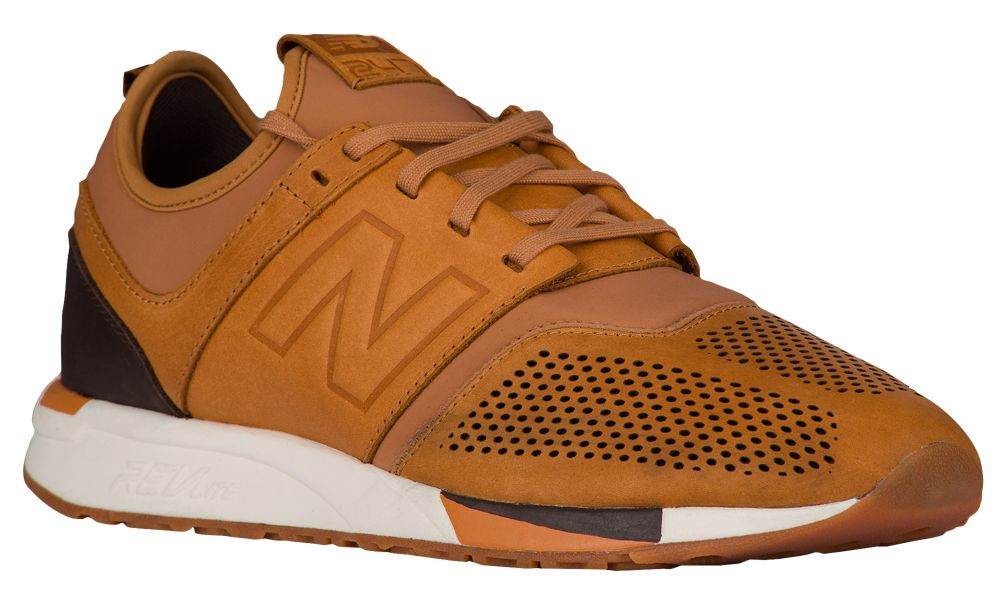 zapatillas new balance running 247 marrones p 69