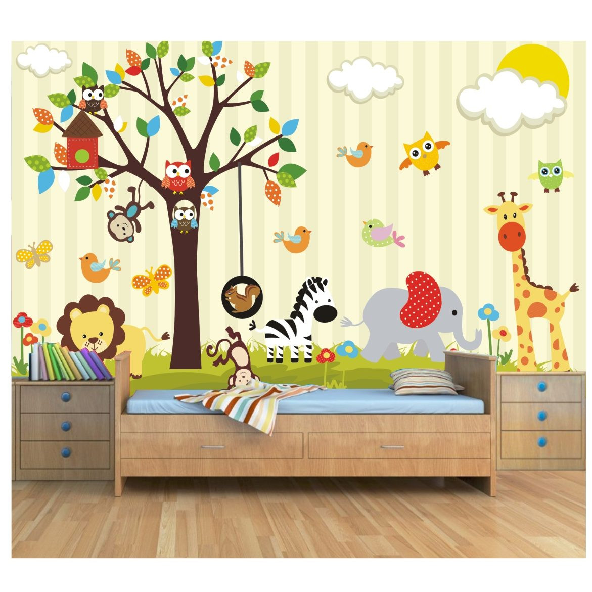 Papel Para Pared Infantil Fresco Papel De Parede Para Quarto Infantil Personagens Of 48  Increíble Papel Para Pared Infantil