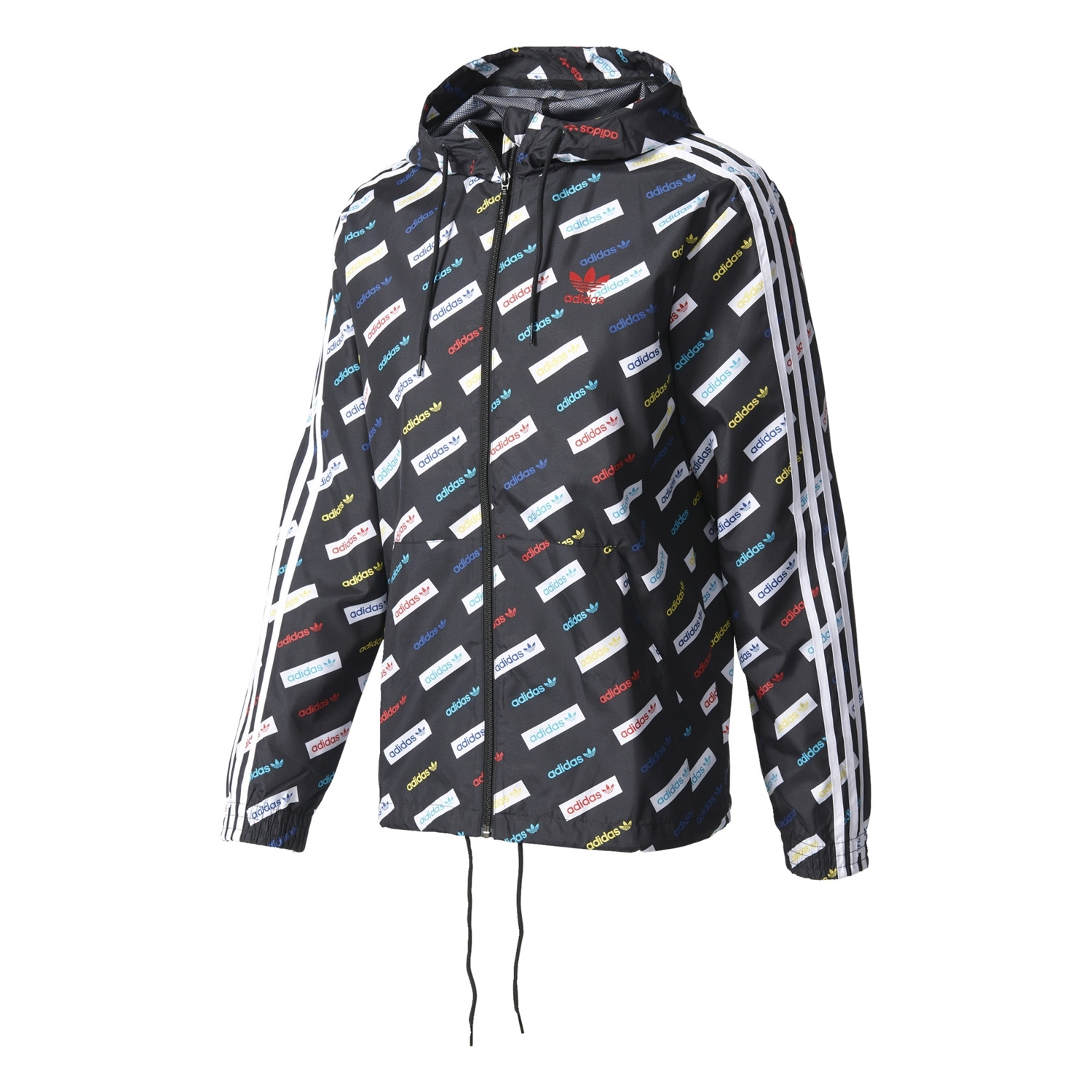 Adidas Originals Windbreaker Trefoil Linear Series AOP multicolor