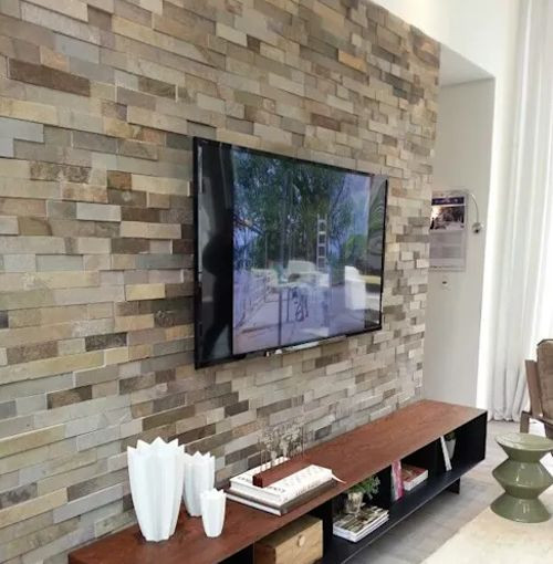 ideas para decorar interiores con piedra natural