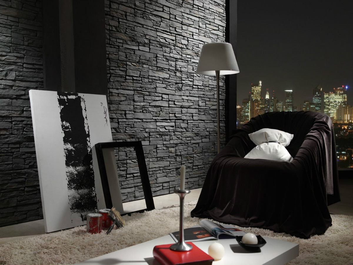 Piedras Para Pared Interior Brillante Ideas Para Decorar Paredes Imitando La Piedra Of 45  Adorable Piedras Para Pared Interior