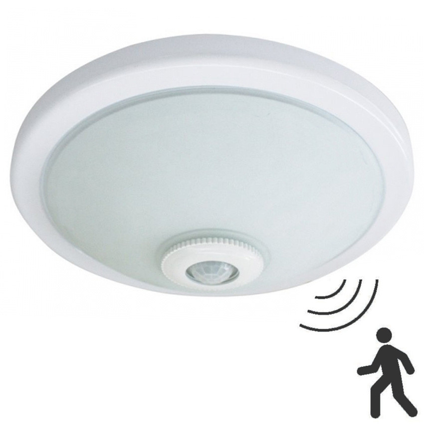 Plafon Con Sensor De Movimiento Magnífico Plafones De Led Simple Downlight Led Superficie W Of Plafon Con Sensor De Movimiento Gran Plafón Con Detector De Movimiento Sensorplus Blanco Mod