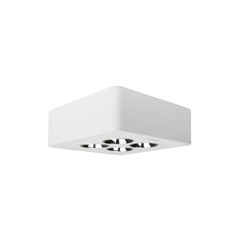 23 lampara downlight led de superficie cool micro 2x2 fluvia
