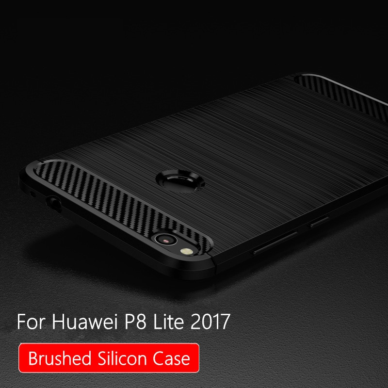Protector Huawei P8 Lite 2017 Gran for Huawei P8 Lite 2017 Case Silicon Brused for Huawei Of 44  Lujo Protector Huawei P8 Lite 2017