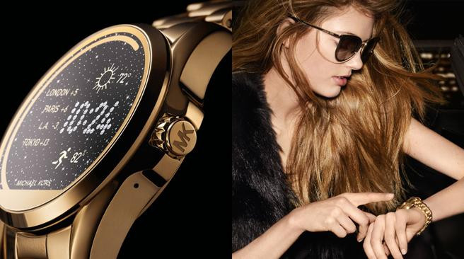 michael kors smartwatch android wear tendencias moda
