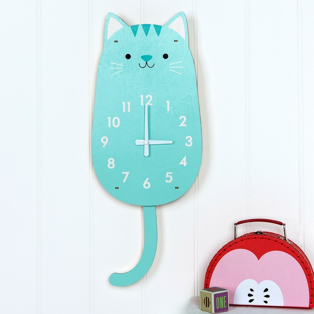 Relojes De Pared Modernos Decoracion Único Reloj De Pared Gatito Minimoi Of 45  Lujo Relojes De Pared Modernos Decoracion