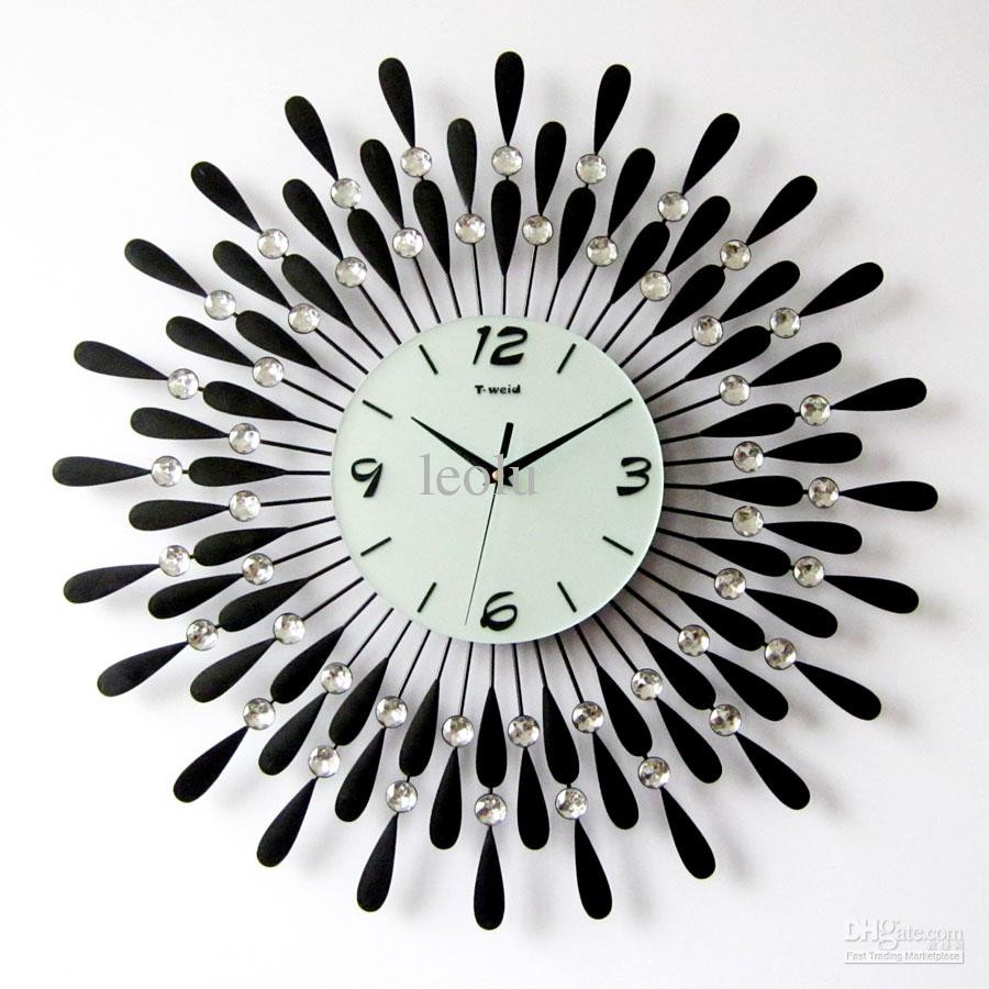 Relojes De Pared Modernos Encantador Using Oversized Wall Clocks to Decorate Your Home Of 50  Nuevo Relojes De Pared Modernos