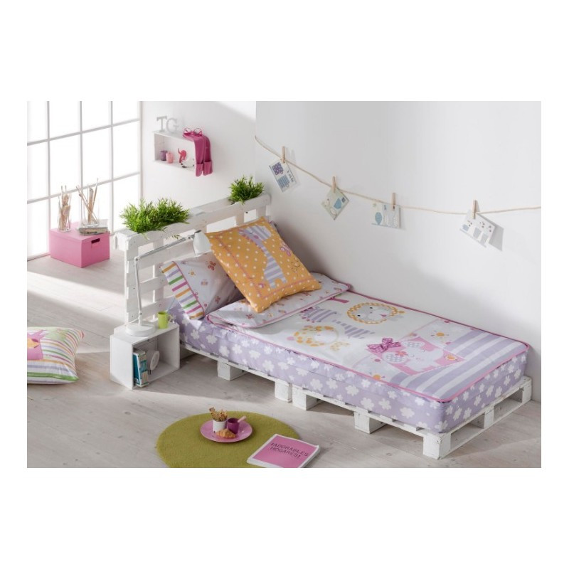 saco nordico friends cama 90 algodon 100