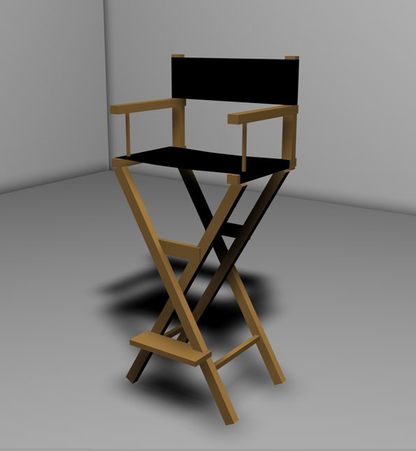 Silla De Director De Cine Gran 3d Model Director Chair Silla Cine Of Silla De Director De Cine Innovador Sillas De Director Plegables Silla Plegable Estilo