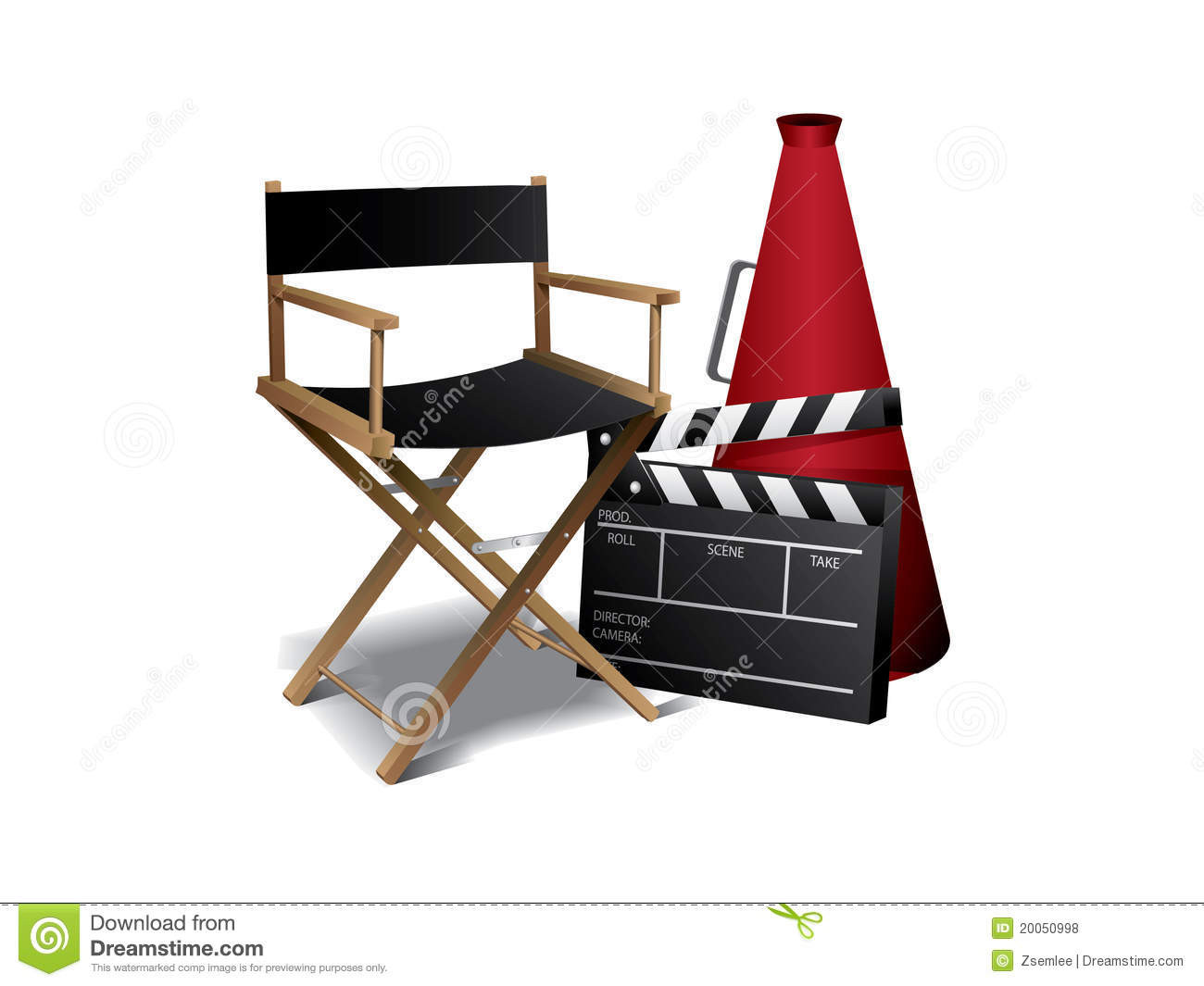 Silla De Director De Cine Gran Movie Director Chair Royalty Free Stock S Image Of Silla De Director De Cine Adorable Silla Director De Madera Tauar Color Tabaco Y Polyester
