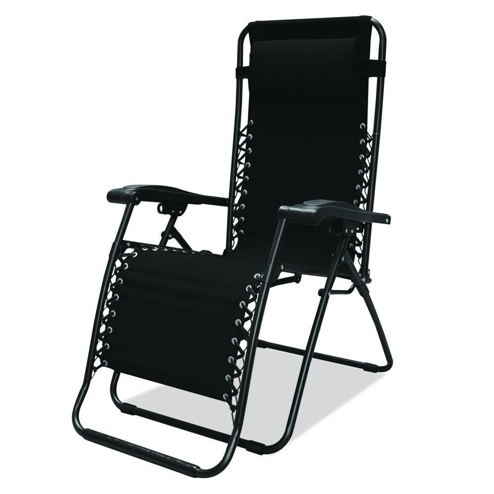 MLM silla plegable para jardin caravan sports color negro JM