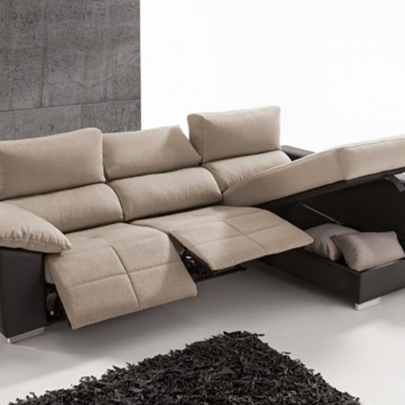 Sofa 3 Plazas Chaise Longue Brillante sofa 3 Plazas Relax Con Chaise Longue Y Arcón Of 37  atractivo sofa 3 Plazas Chaise Longue