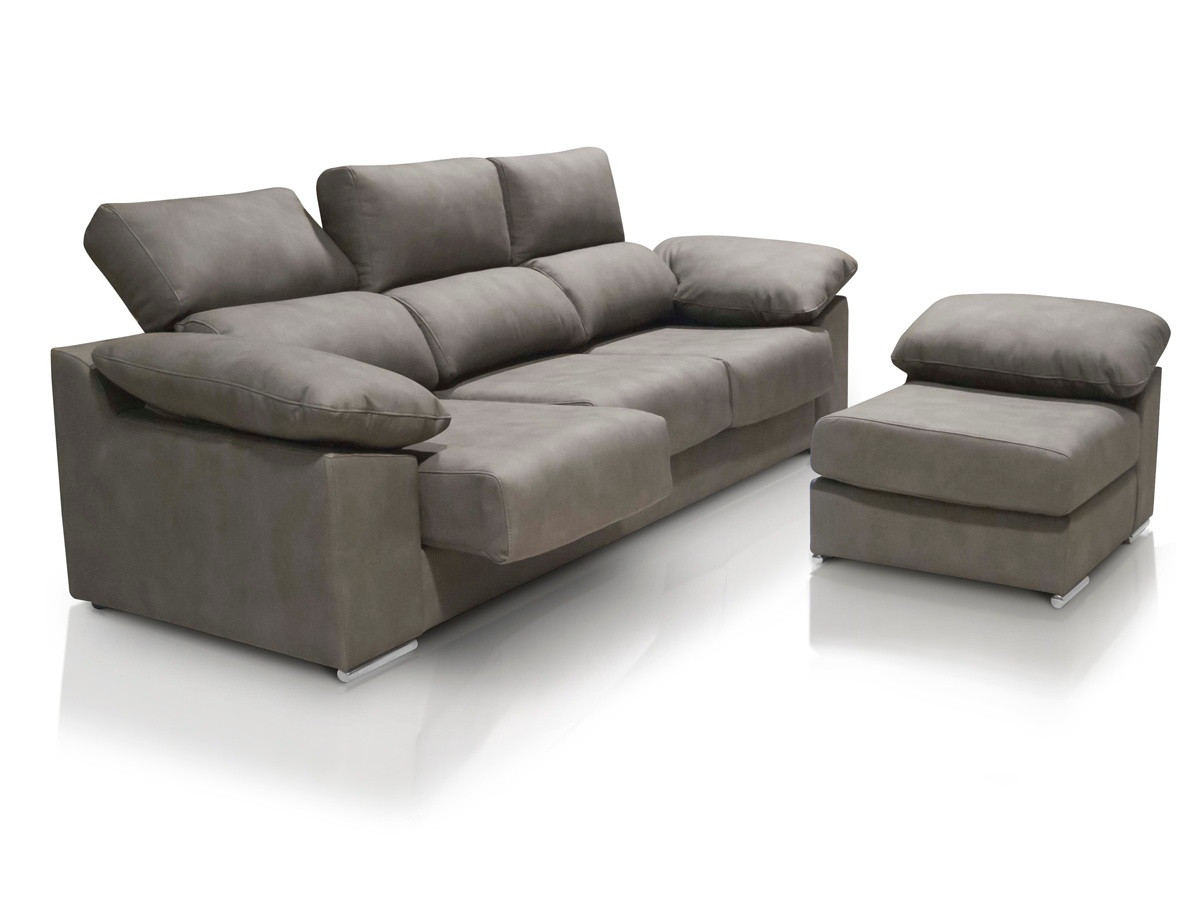 Sofa 3 Plazas Chaise Longue Increíble sofá Chaise Longue De 3 Plazas Con asientos Deslizantes Y Of 37  atractivo sofa 3 Plazas Chaise Longue