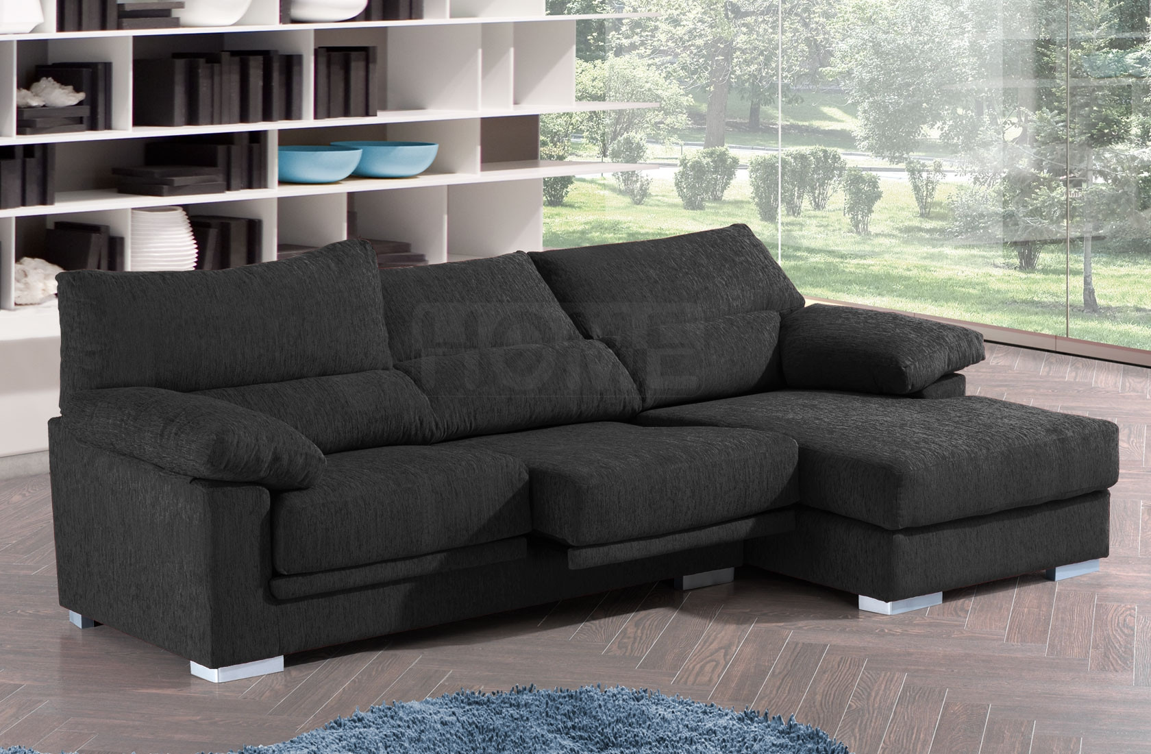 Sofa 3 Plazas Chaise Longue Único Chaise Longue Tela Alta Calidad En 3 Plazas Chaise Of 37  atractivo sofa 3 Plazas Chaise Longue