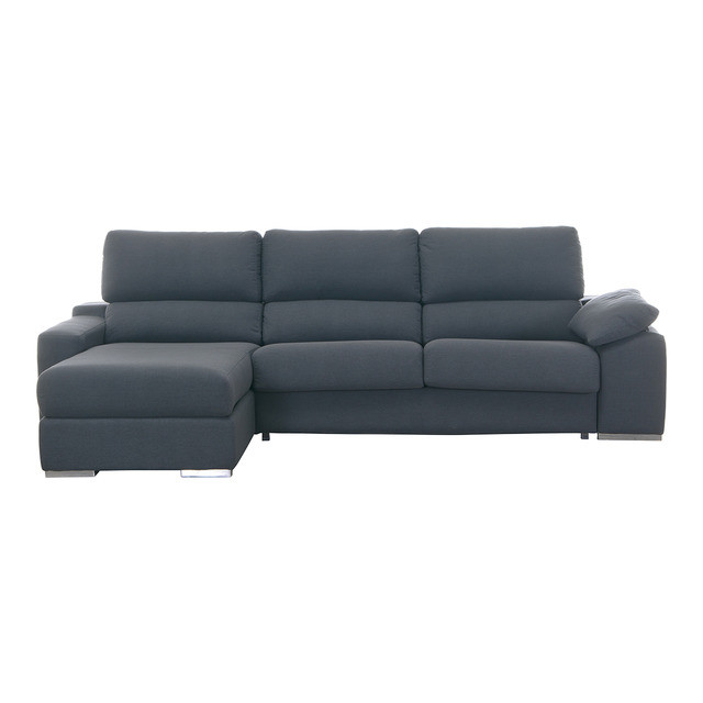 Sofa Cama Chaise Longue Perfecto sofá Tapizado De 3 Plazas Con Cama Y Chaise Longue Of 48  Magnífica sofa Cama Chaise Longue