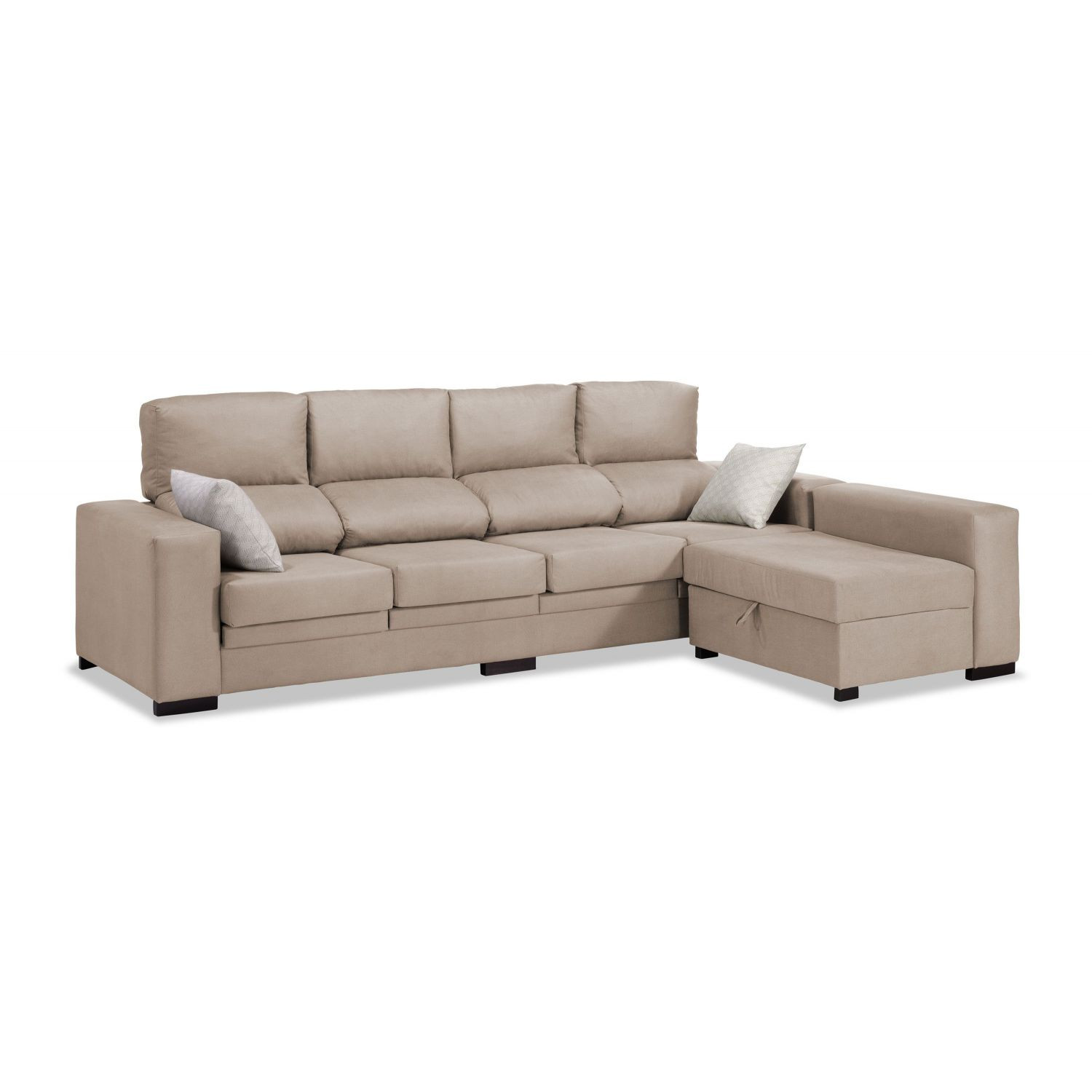 Sofa Chaise Longue 4 Plazas Contemporáneo sofá Chaise Longue 4 Plazas Beige Reclinable Extensible Of 47  Único sofa Chaise Longue 4 Plazas